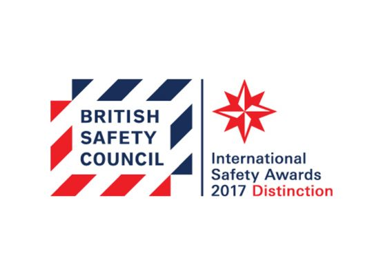 DCUK FM is presented with International Safety Award
