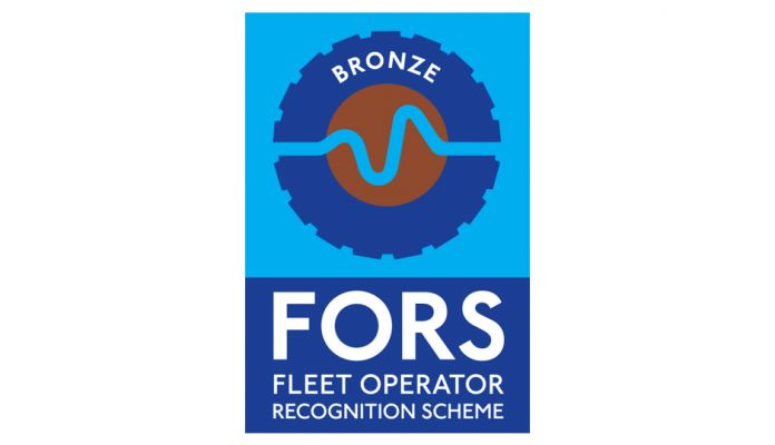 Awarded FORS Bronze Accreditation