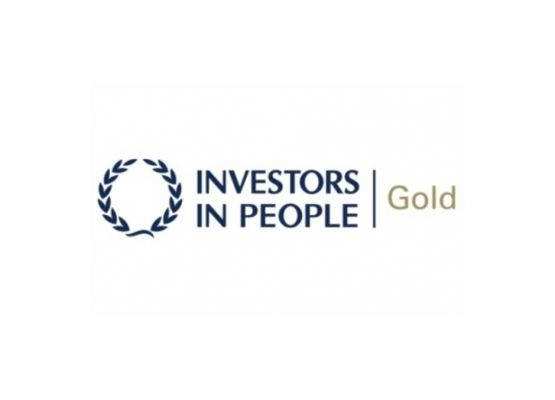 Ductclean (UK) Ltd Accredited with our 2nd Investors in People Gold Award