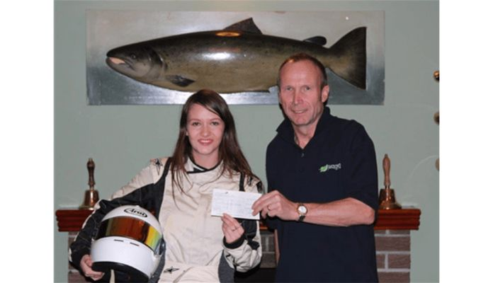Sponsorship of Female Scottish Racing Driver