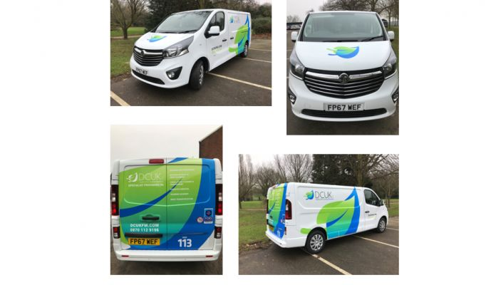 New Branded Vans join the DCUK FM Fleet
