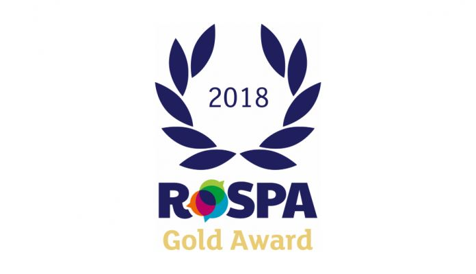 DCUKFM handed RoSPA Gold Award for health and safety practices
