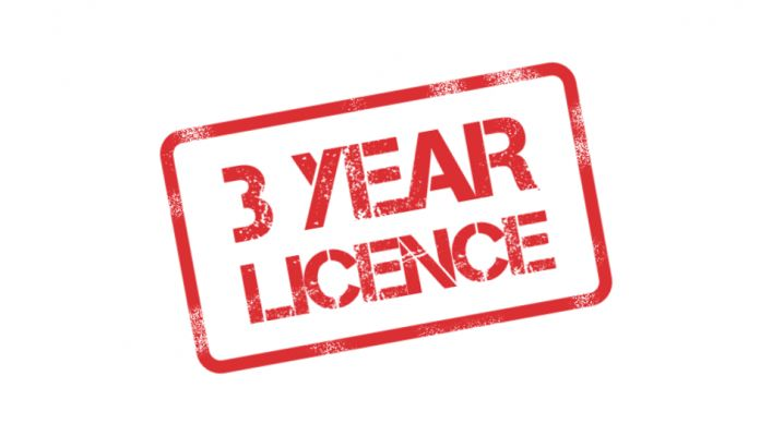 3 Year Asbestos Licence