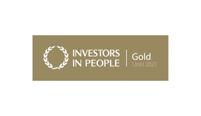 Investors in People Gold Accreditation Award