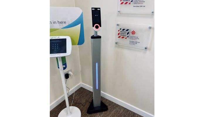 Temperature Scanner in all Offices and Major Sites