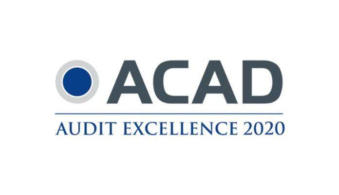 ACAD Excellence in Audit Award 2020