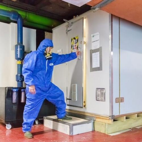 Services - Asbestos Removal - Ductwork Cleaning | DCUKFM